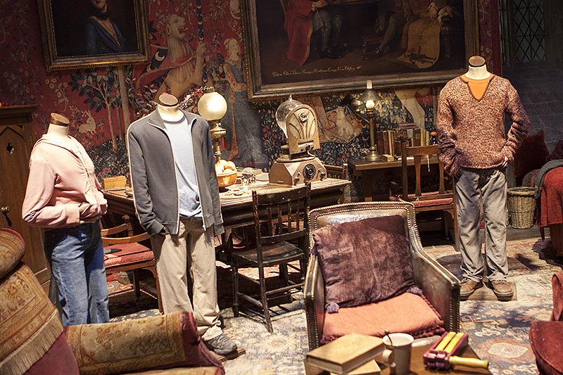 harry potter set tour