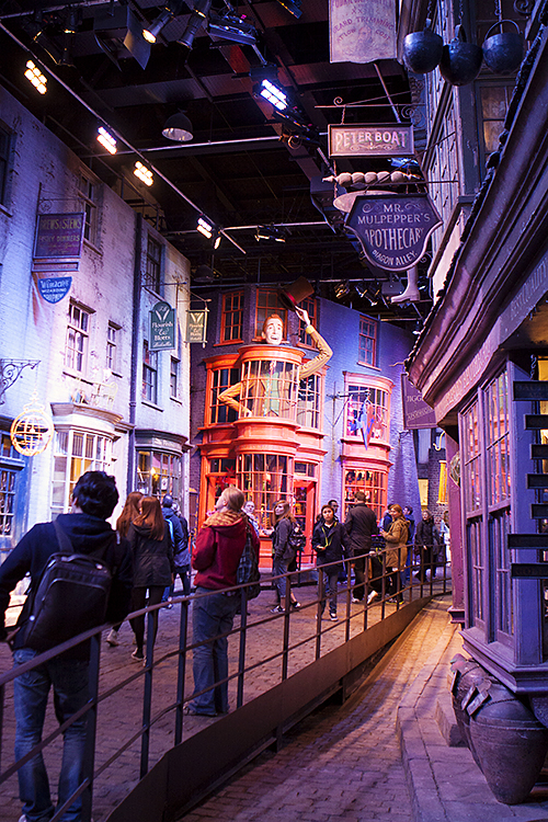 harry potter set tour